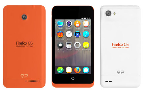 Geeksphone >> Mozilla Developer Phone preview